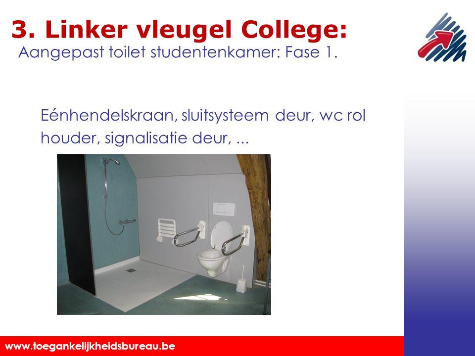 3. Linker vleugel College: