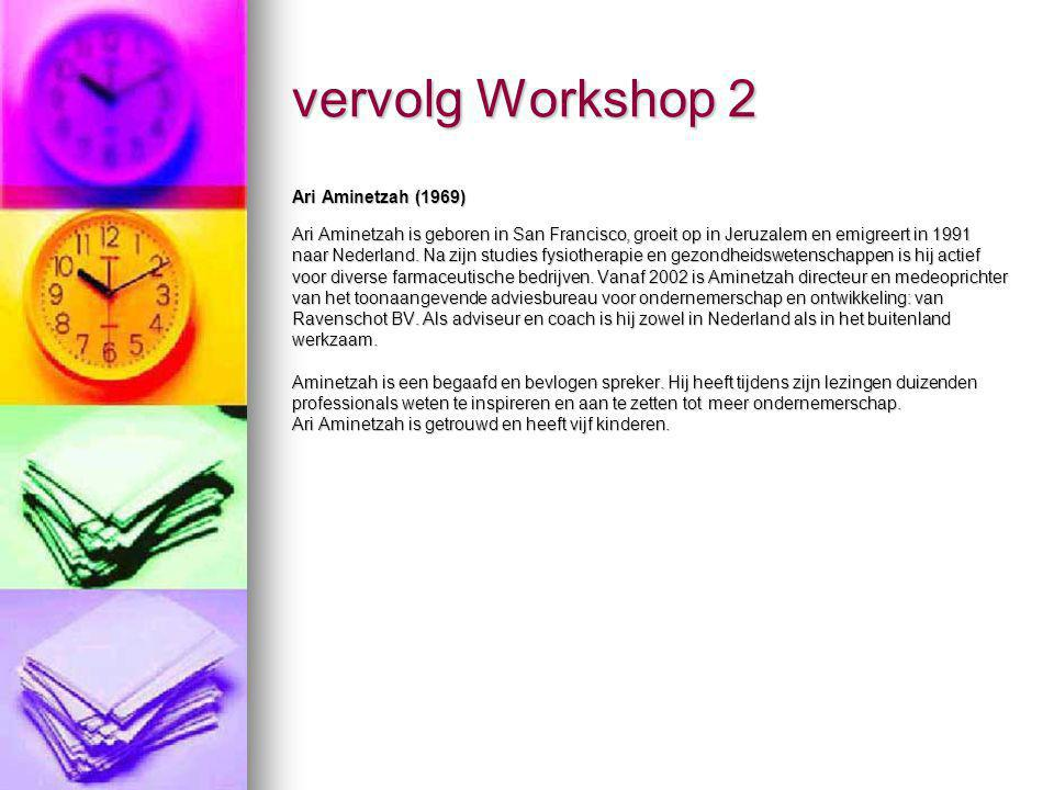 vervolg Workshop 2 Ari Aminetzah (1969)