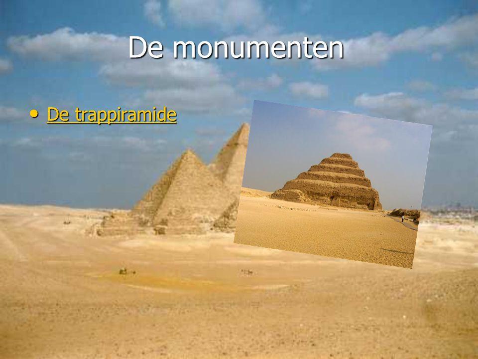 De monumenten De trappiramide