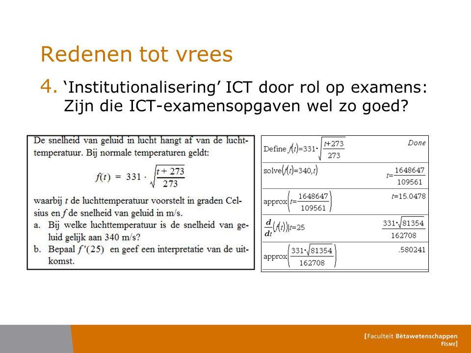 Redenen tot vrees 'Institutionalisering' ICT door rol op examens: Zijn die ICT-examensopgaven wel zo goed
