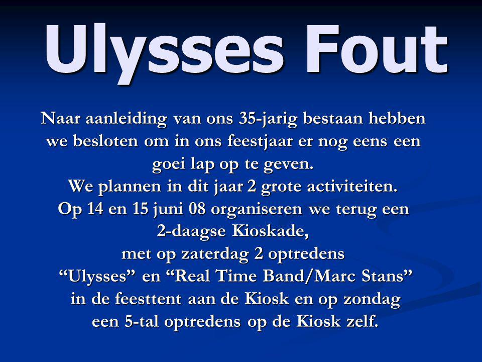 Ulysses Fout