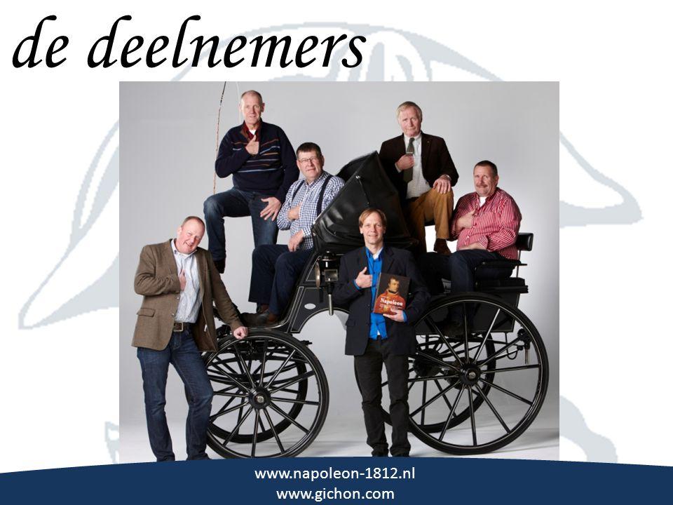 de deelnemers \\\ www.napoleon-1812.nl www.gichon.com
