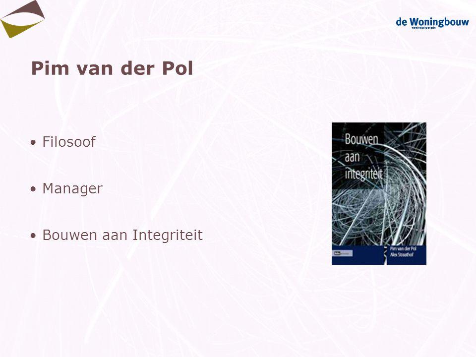 Pim van der Pol Filosoof Manager Bouwen aan Integriteit