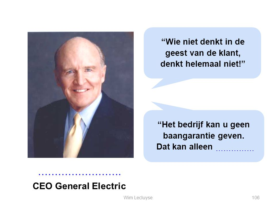 ……………………. CEO General Electric