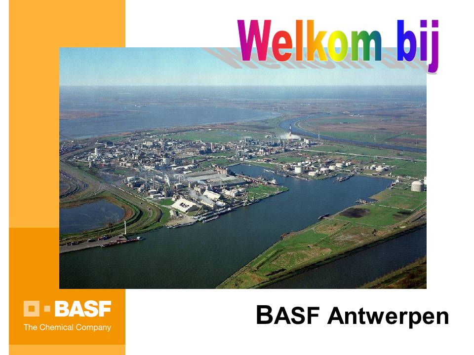 Welkom bij BASF Antwerpen