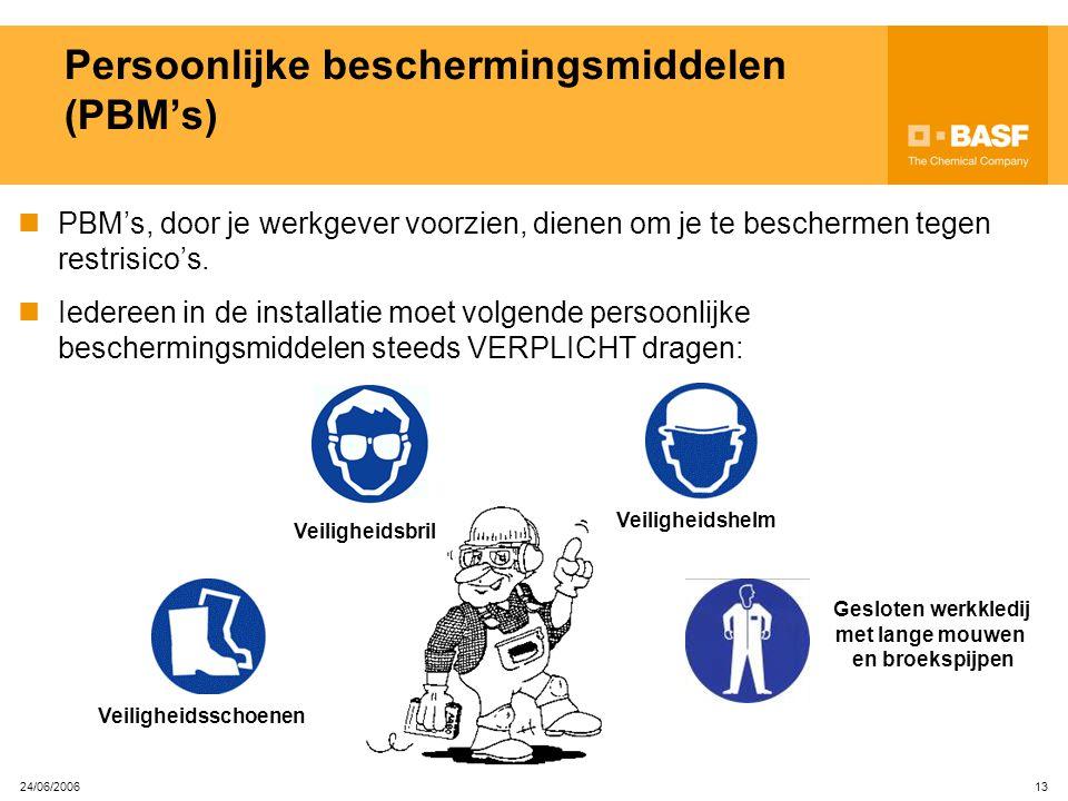 Persoonlijke beschermingsmiddelen (PBM's)
