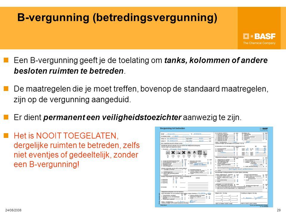 B-vergunning (betredingsvergunning)