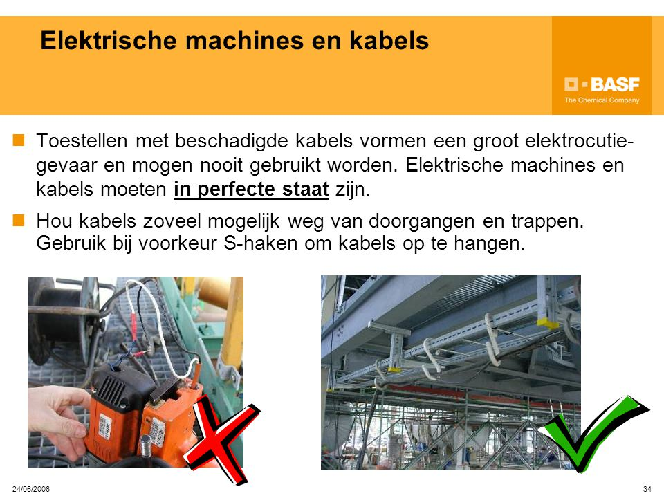 Elektrische machines en kabels