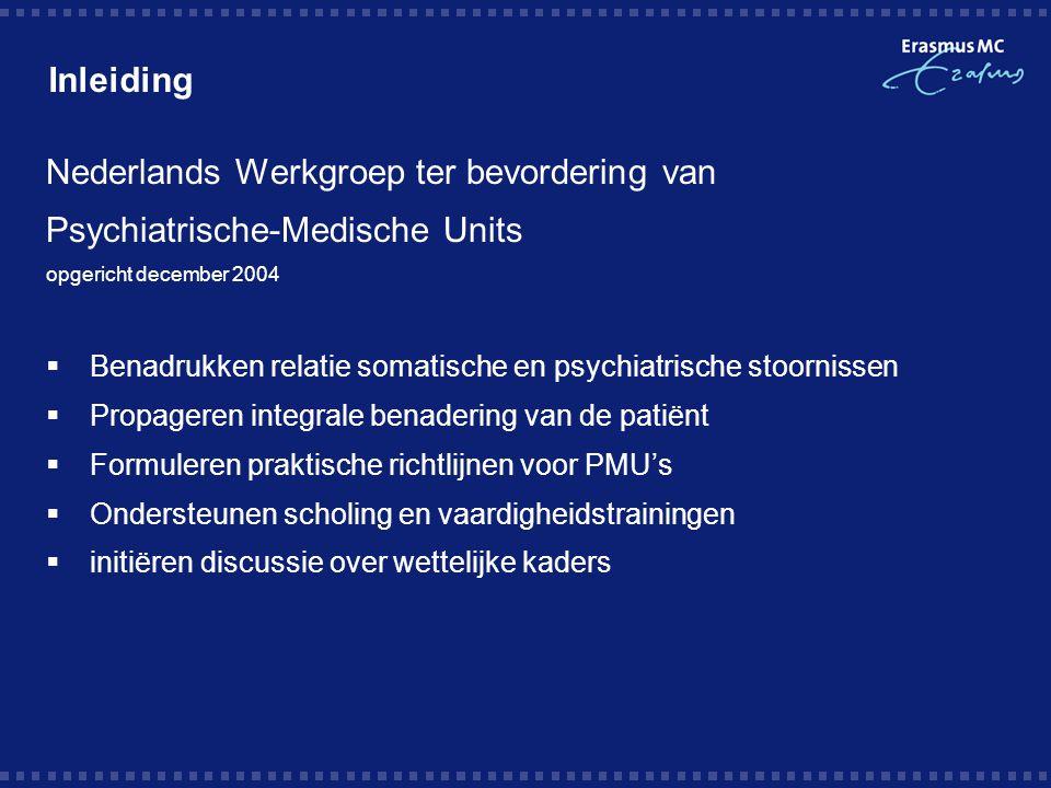 Nederlands Werkgroep ter bevordering van Psychiatrische-Medische Units