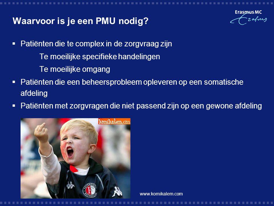 Waarvoor is je een PMU nodig