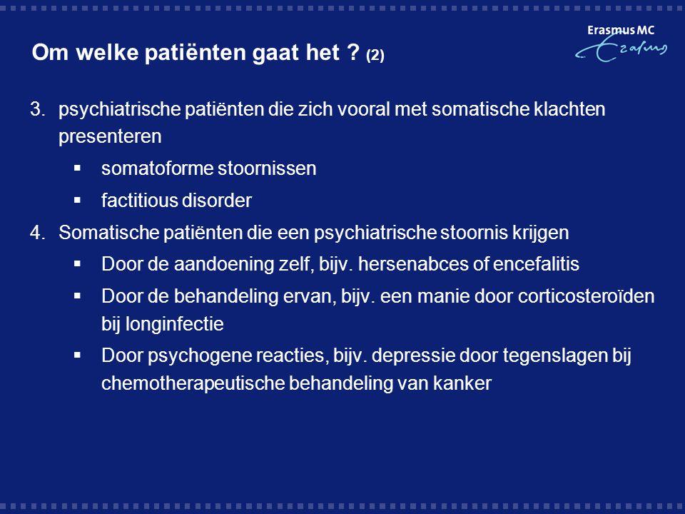 Om welke patiënten gaat het (2)