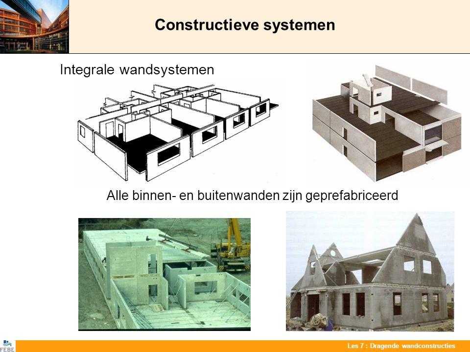 Constructieve systemen