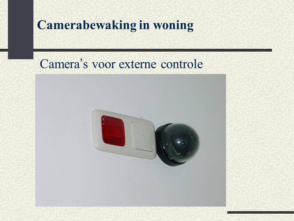 Camerabewaking in woning