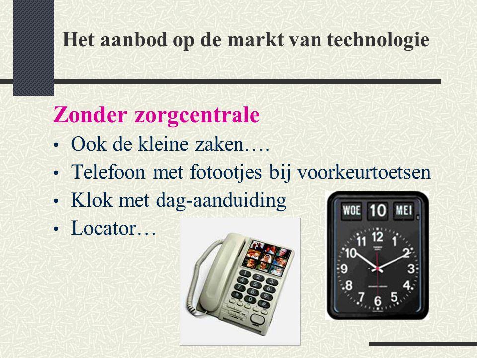 Het aanbod op de markt van technologie
