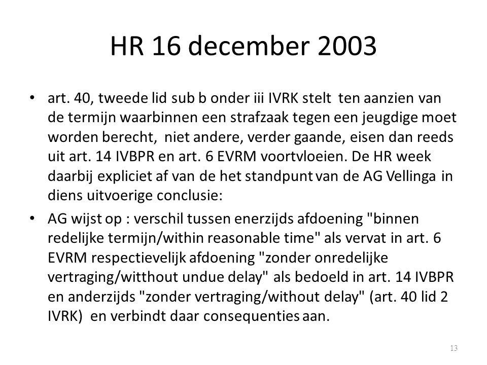 HR 16 december 2003