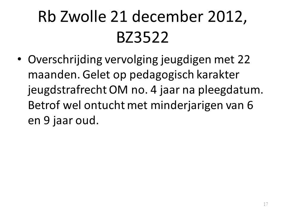 Rb Zwolle 21 december 2012, BZ3522