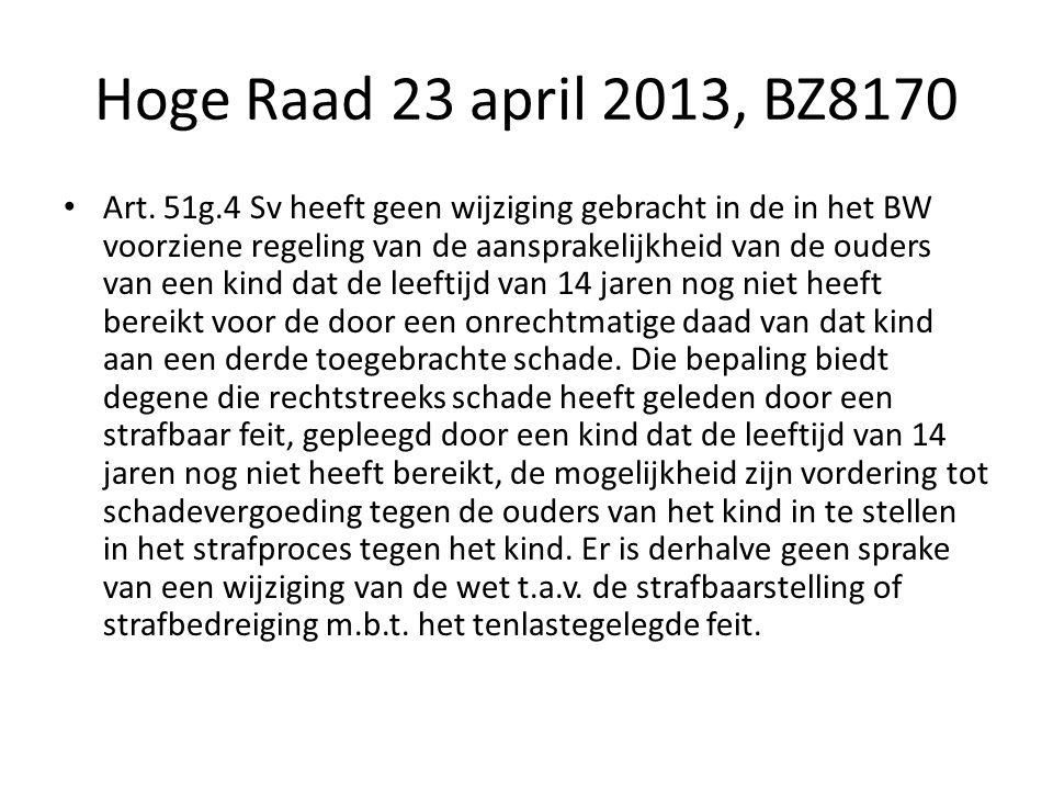 Hoge Raad 23 april 2013, BZ8170