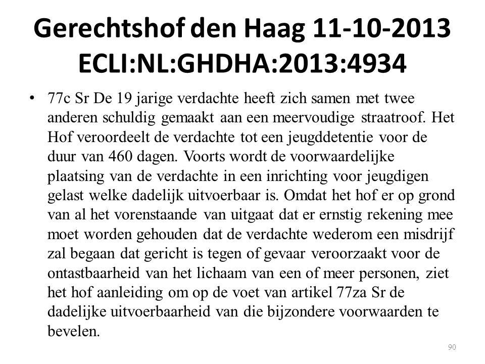 Gerechtshof den Haag 11-10-2013 ECLI:NL:GHDHA:2013:4934