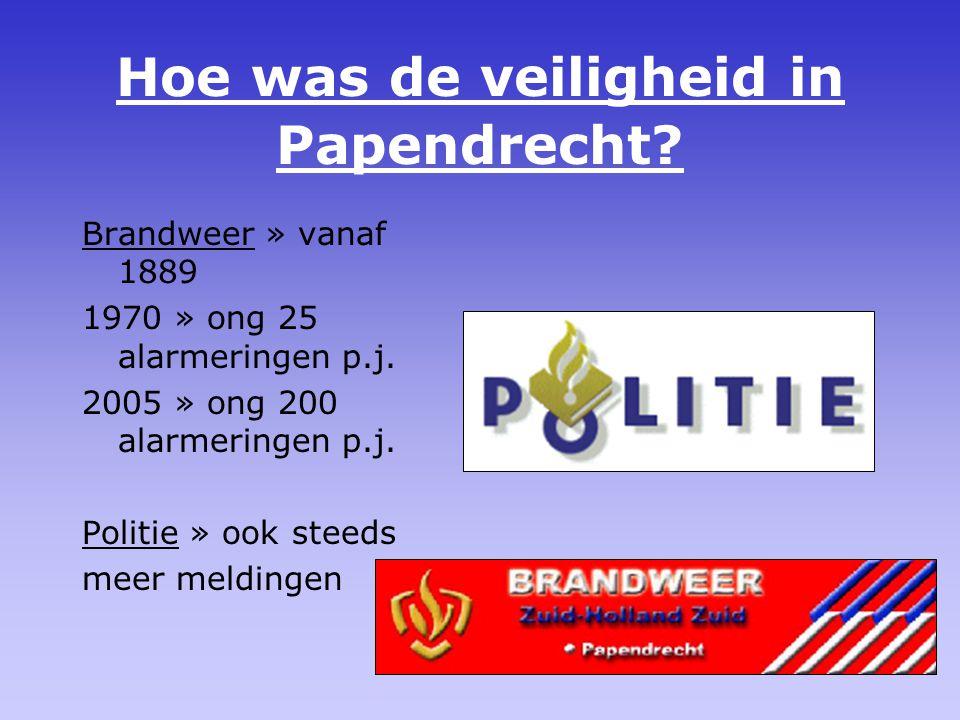 Hoe was de veiligheid in Papendrecht
