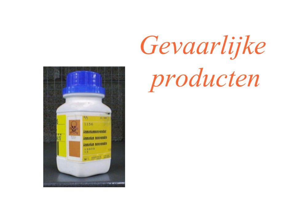 Gevaarlijke producten