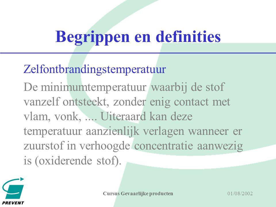 Begrippen en definities