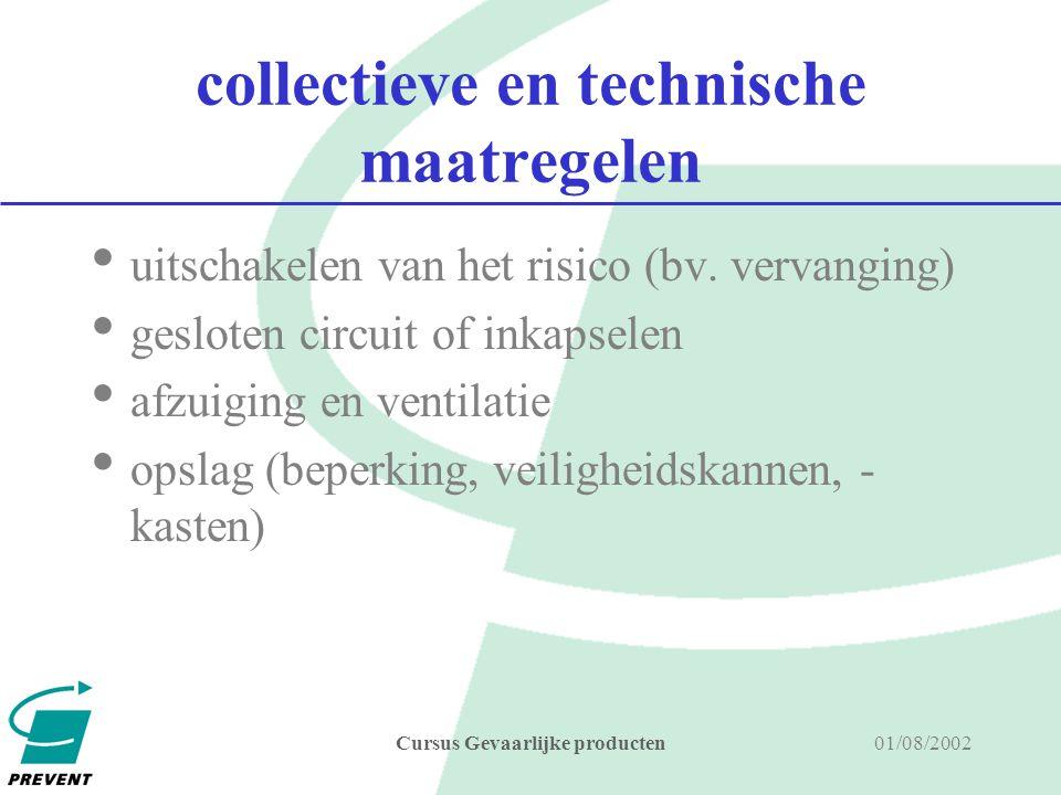 collectieve en technische maatregelen