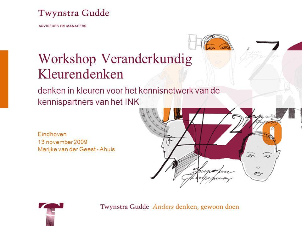 Workshop Veranderkundig Kleurendenken