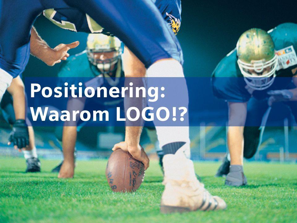 Positionering: Waarom LOGO!