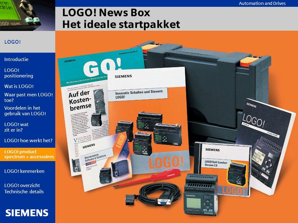 LOGO! News Box Het ideale startpakket