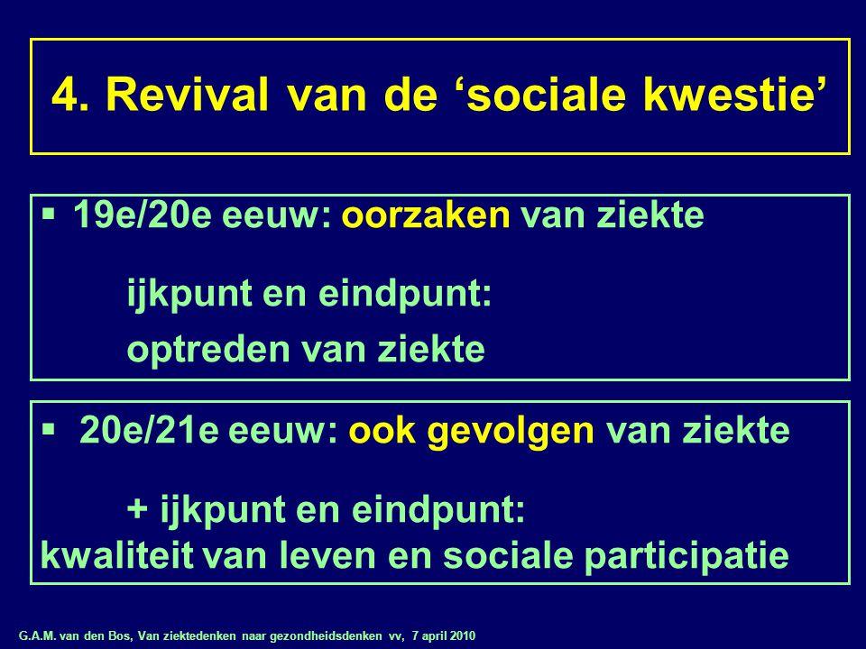 4. Revival van de 'sociale kwestie'