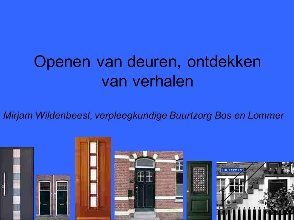 Openen van deuren, ontdekken van verhalen