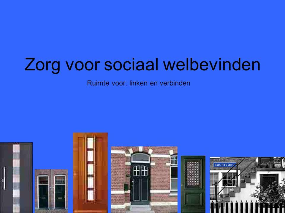 Zorg voor sociaal welbevinden