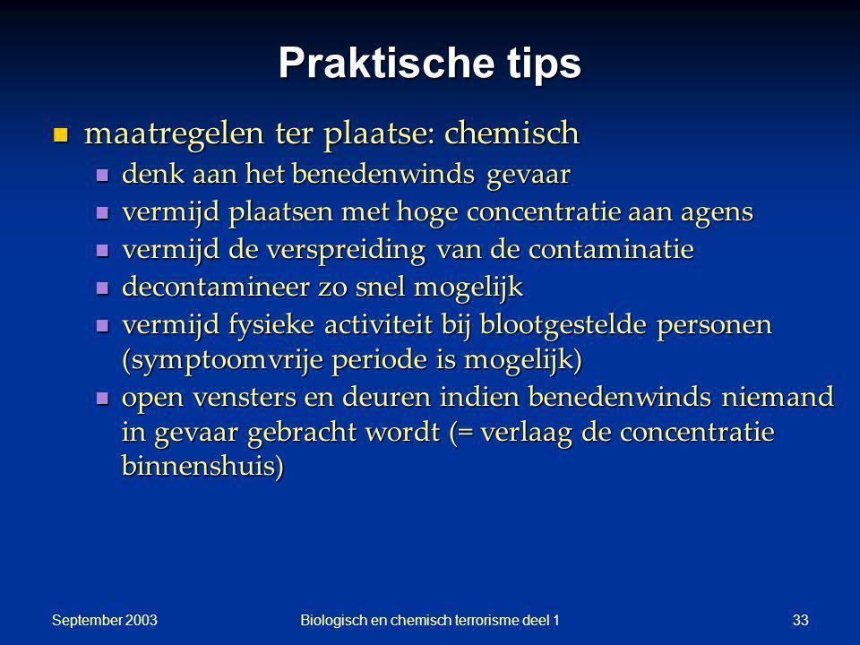 Biologisch en chemisch terrorisme deel 1