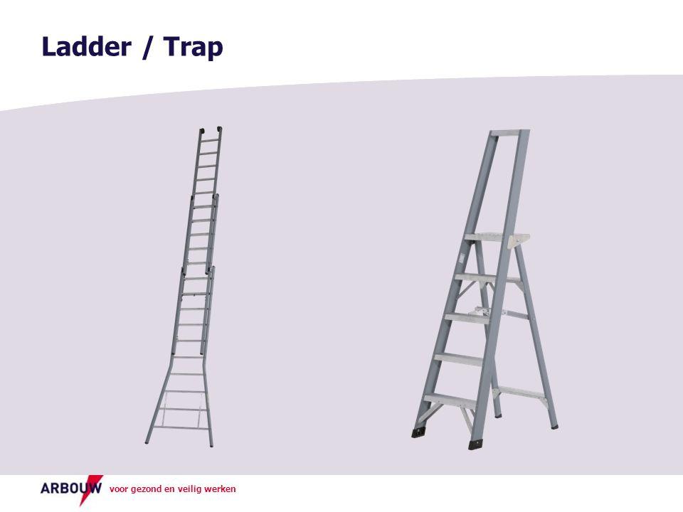 Ladder / Trap Uitleg verschil ladder en trap
