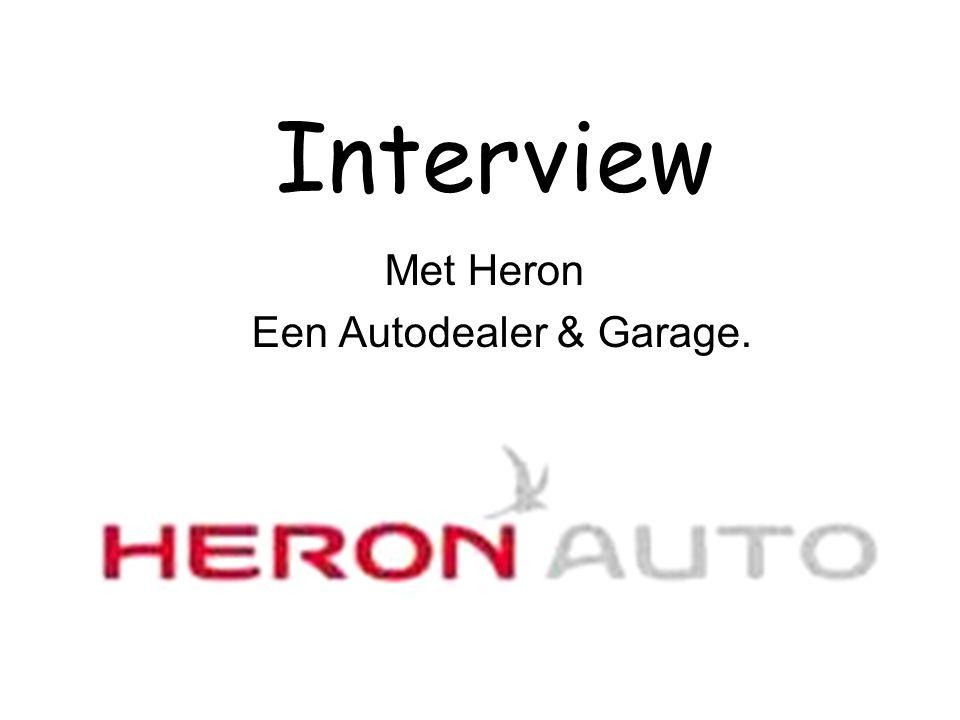 Met Heron Een Autodealer & Garage.