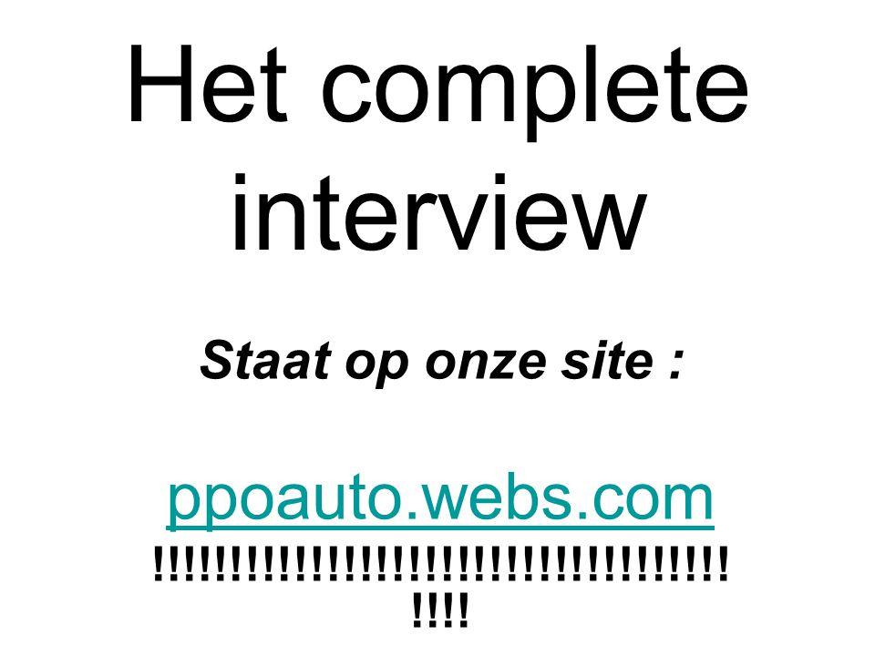 Het complete interview