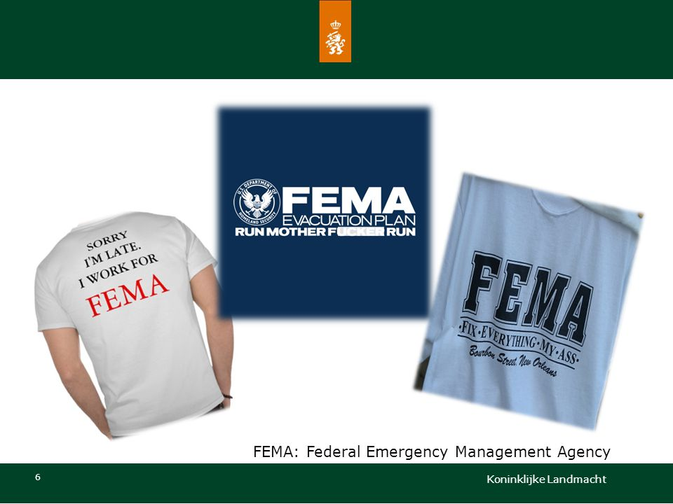 FEMA: Federal Emergency Management Agency