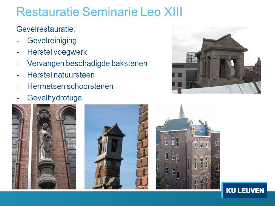 Restauratie Seminarie Leo XIII