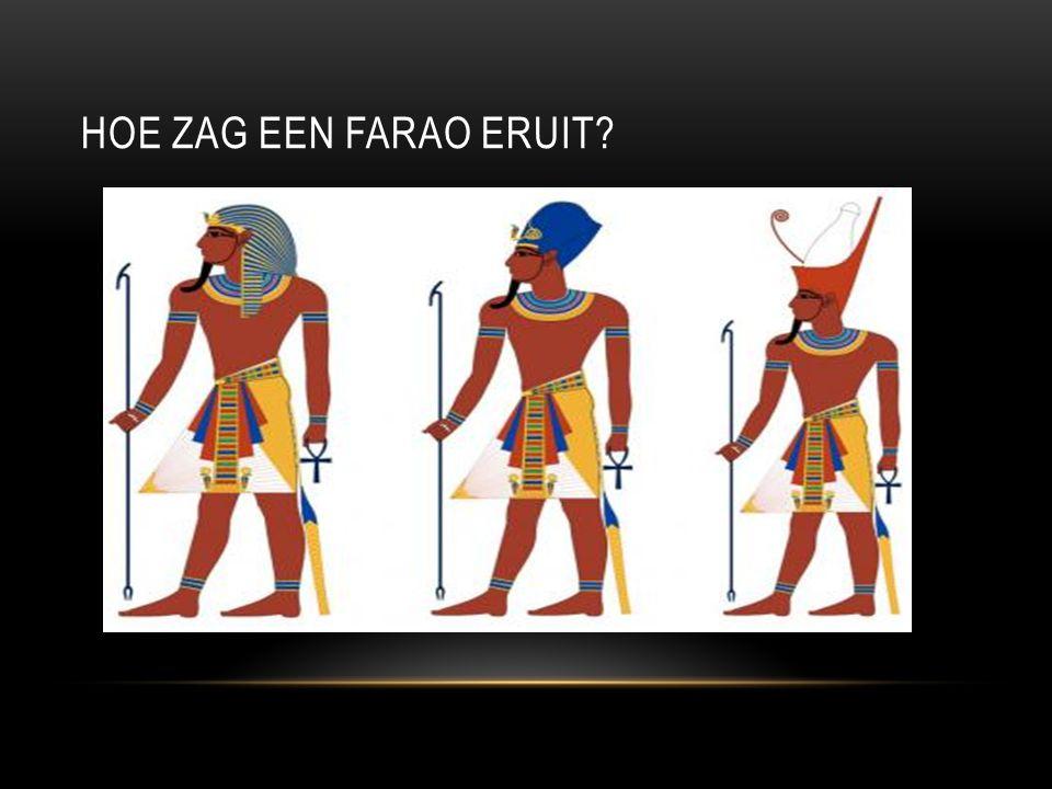 Hoe zag een farao eruit