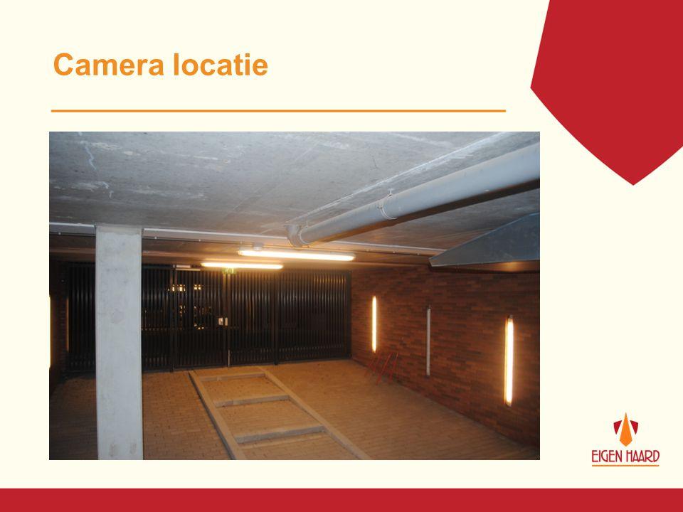 Camera locatie