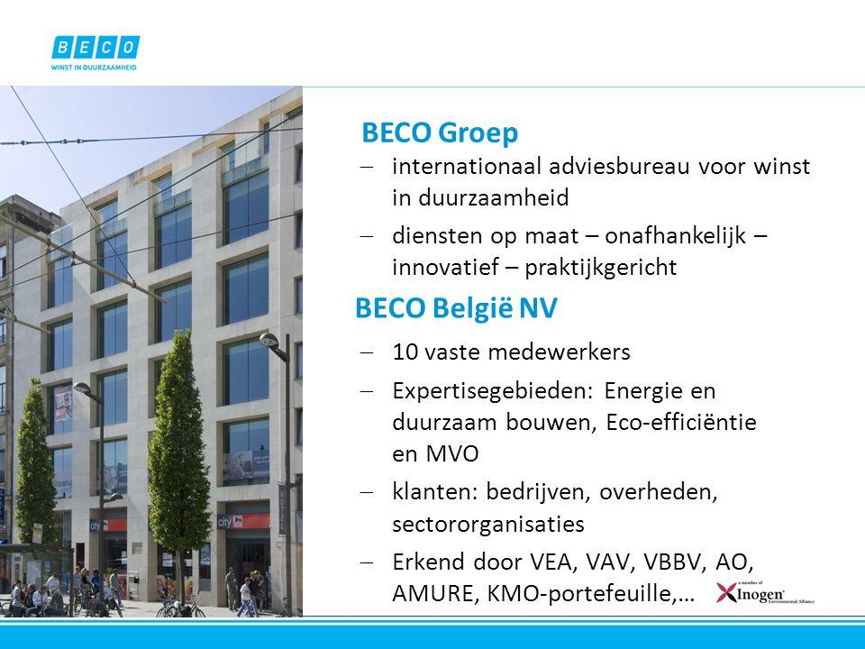 BECO Groep BECO België NV