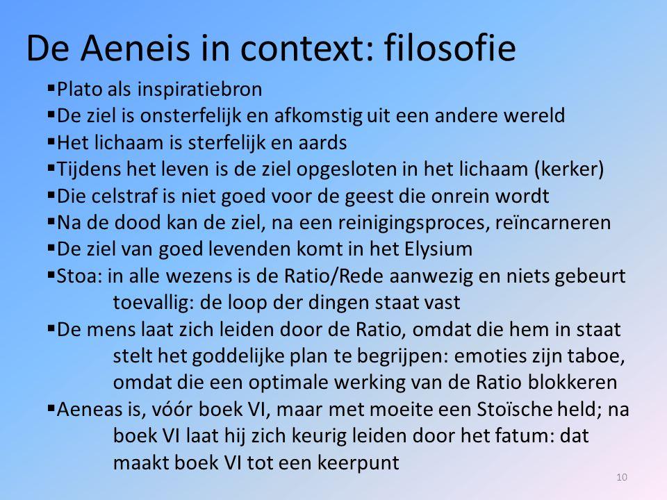 De Aeneis in context: filosofie