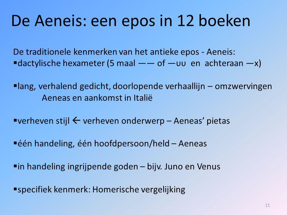 De Aeneis: een epos in 12 boeken