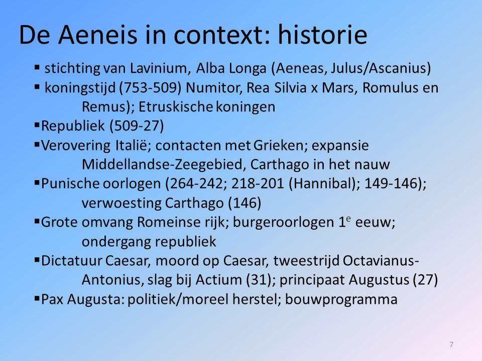 De Aeneis in context: historie
