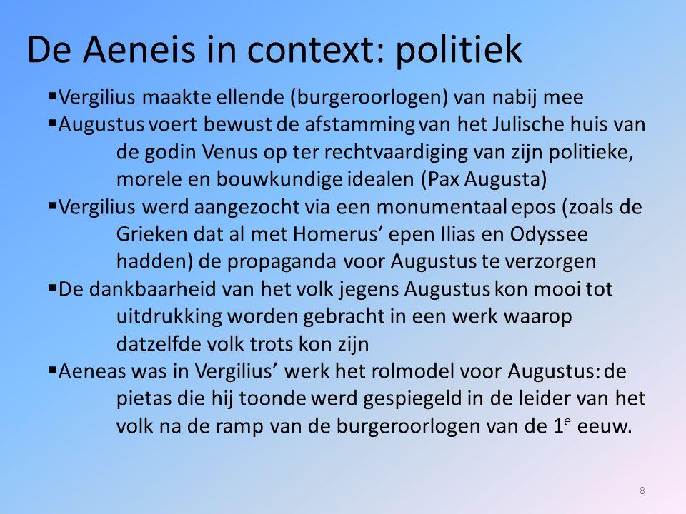 De Aeneis in context: politiek
