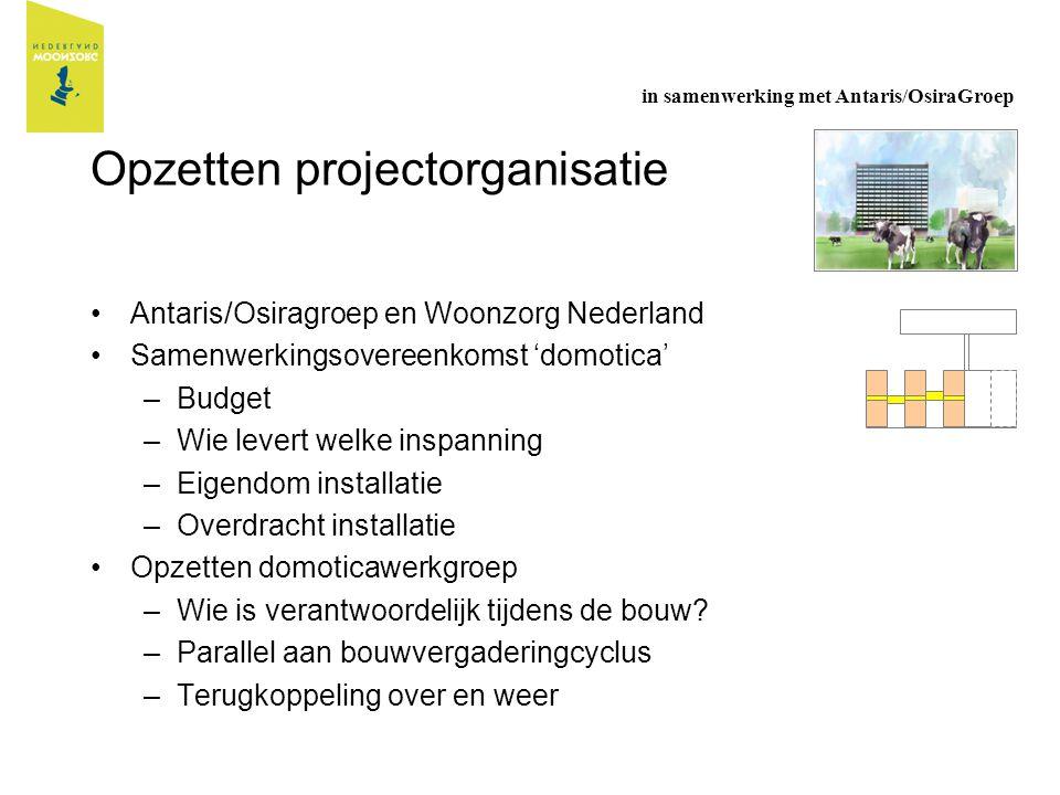 Opzetten projectorganisatie