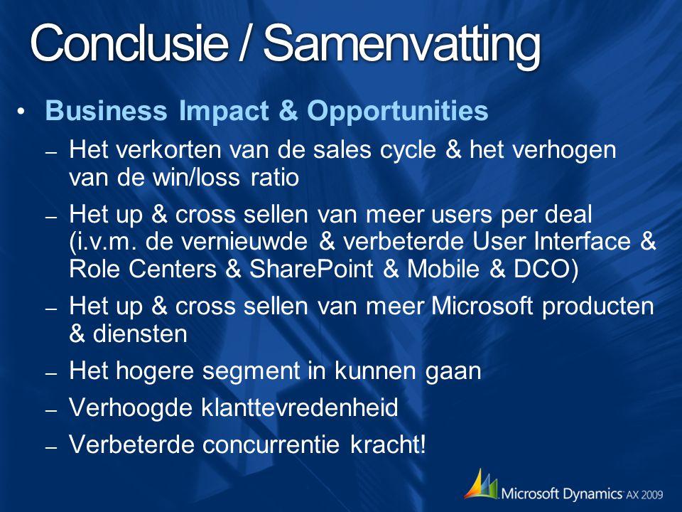 Conclusie / Samenvatting