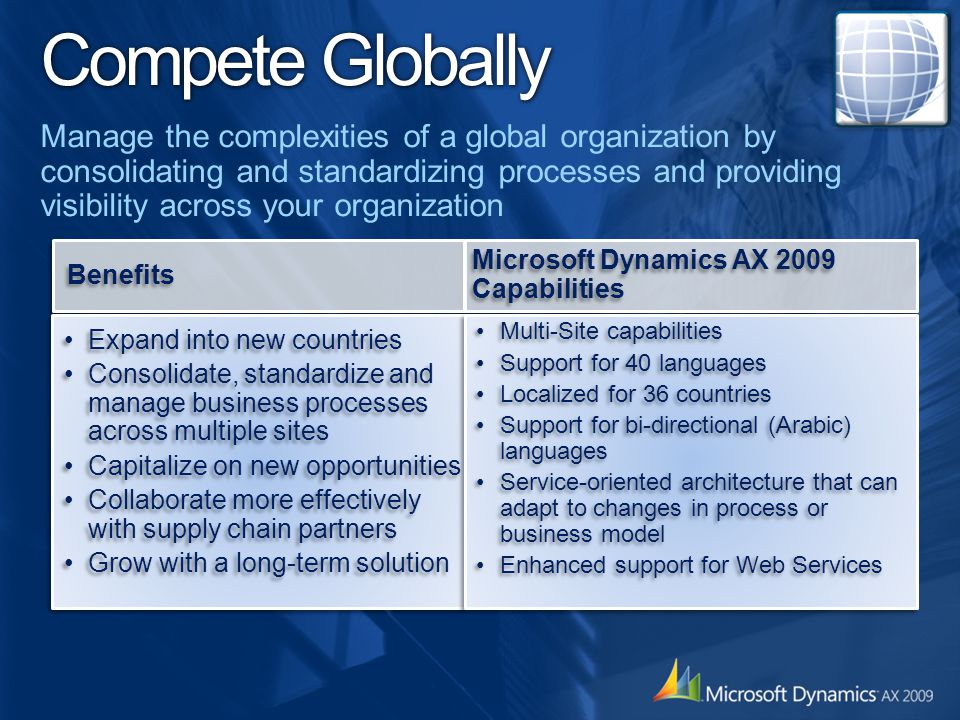 Compete Globally