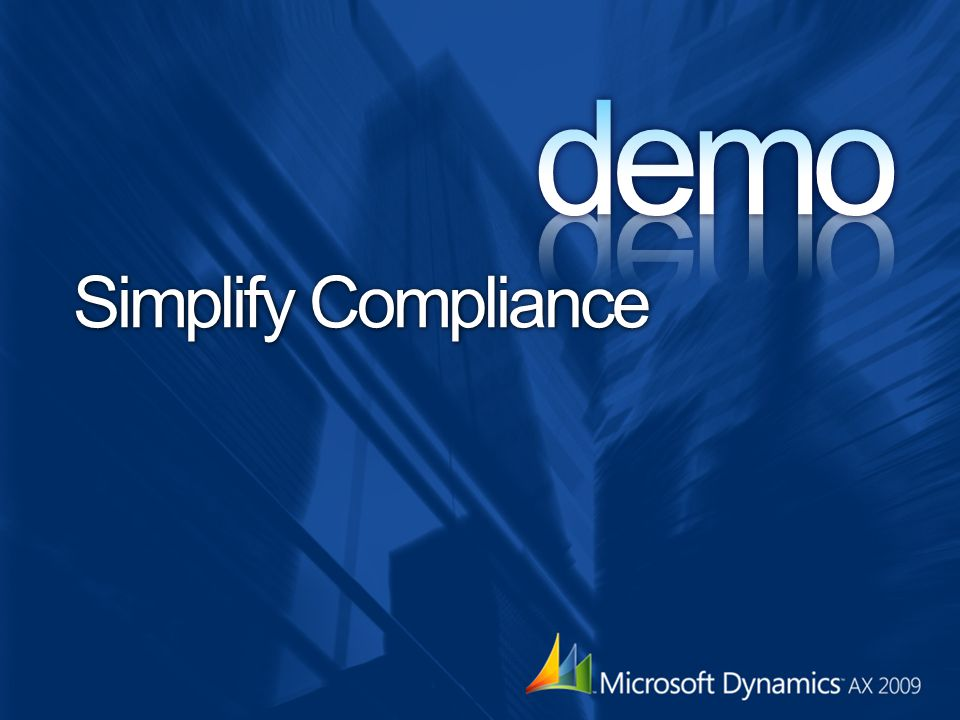 demo Simplify Compliance