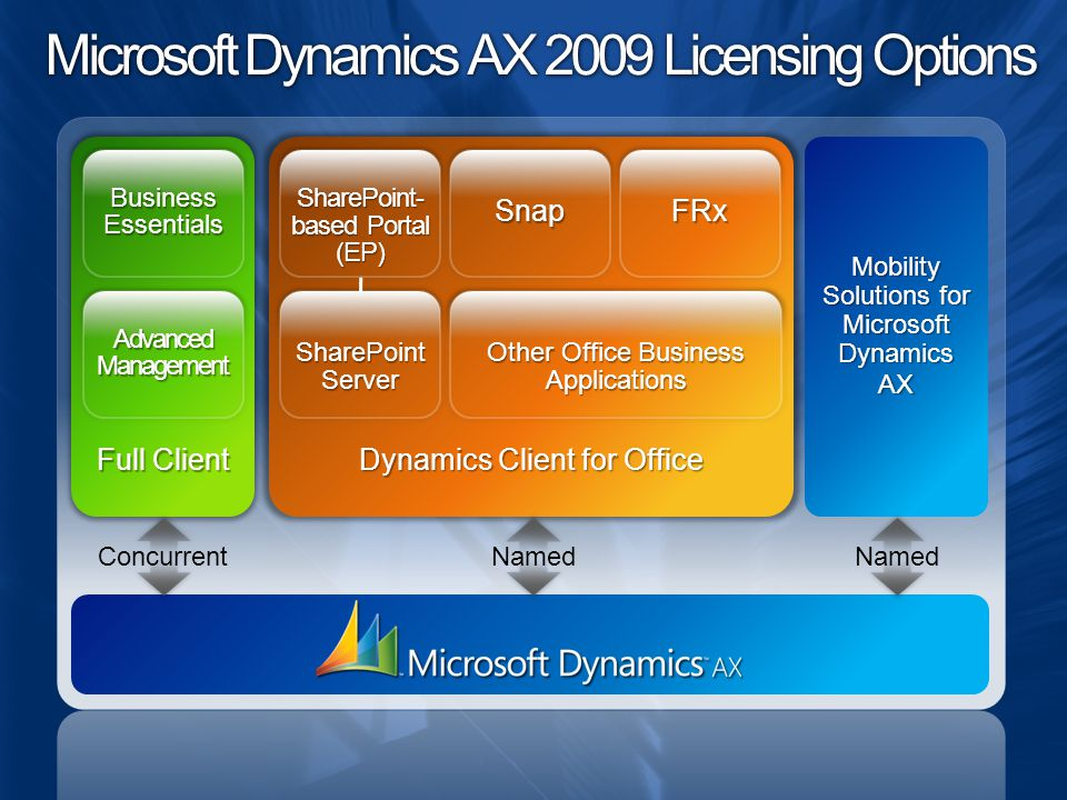 Microsoft Dynamics AX 2009 Licensing Options
